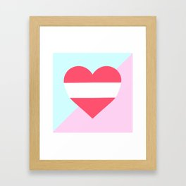 Proud Baby Framed Art Print