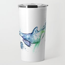 Orca - Into the Blue Travel Mug