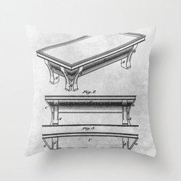 Billiard table Throw Pillow