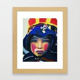 Myla Framed Art Print