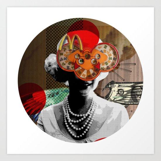 MMM · Crop Circle Art Print