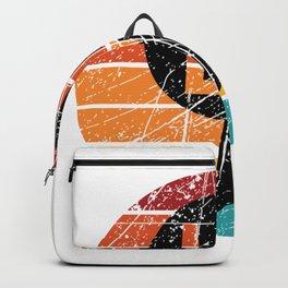 Comma la - kamala harris Retro vintage Style Backpack