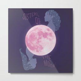 Sisters of the Moon Metal Print
