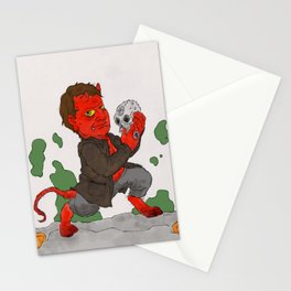 """Hell in a Handbasket"" by Virginia McCarthy Stationery Cards"