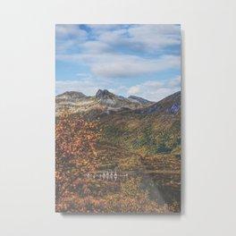 Idyllic Harbor Metal Print