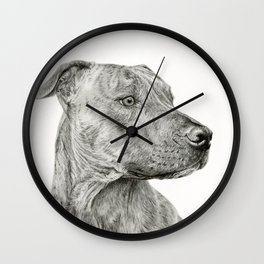 Ittie Bittie Pittie Wall Clock