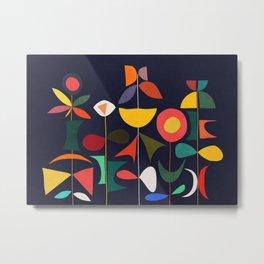 Klee's Garden Metal Print