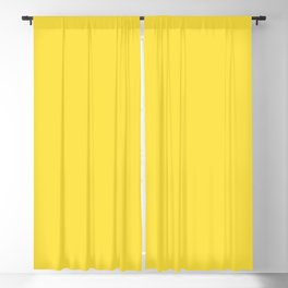 Butter Yellow - Solid Color Collection Blackout Curtain