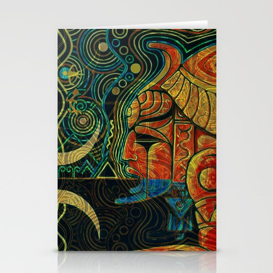 They Who Drink Chaos Stationery Cards