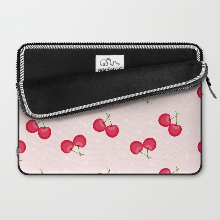 Sweet Cherries Unique Pattern Laptop Sleeve