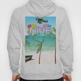 Niue South Pacific travel poster Hoody