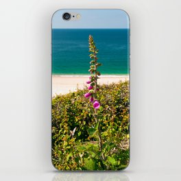 Foxglove On The Beach iPhone Skin