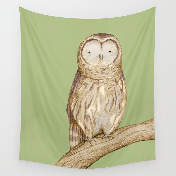 Tawny Owl Wall Tapestry