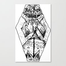 Coffin Creep Canvas Print