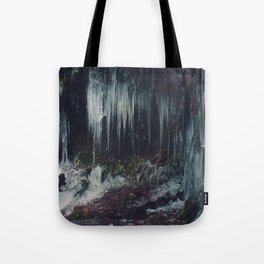 Ice Spikes Tote Bag