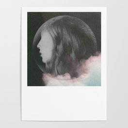 Lil in the Moon Poster