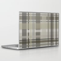 plaid Laptop & iPad Skins featuring Plaid by GoAti