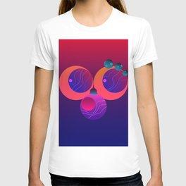 Monkey Planets (2/2) T-shirt