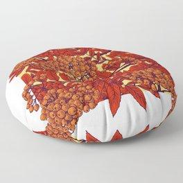 Leaves II Floor Pillow