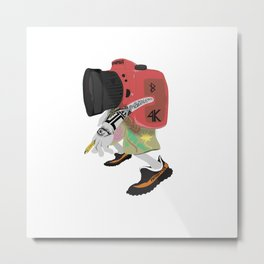 Choot Em' Metal Print