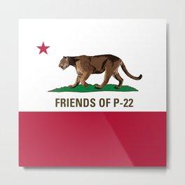 Friends of P-22 Metal Print