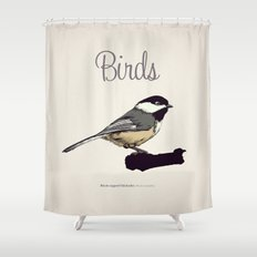 BIRDS 03 Shower Curtain