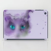 cheshire cat iPad Cases featuring Cheshire Cat by RLJ Photographic