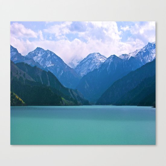 Lake t1me Disposition Canvas Print
