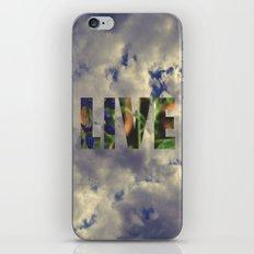 Live! iPhone & iPod Skin