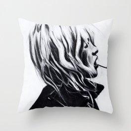 Smokin' sexy Throw Pillow