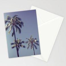 palm trees ver.retro Stationery Cards