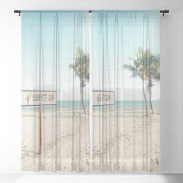 Surfs Up Sheer Curtain