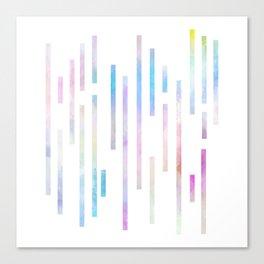 Minimalist Lines - Pastel Canvas Print