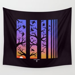 Powell Park Sunset Wall Tapestry