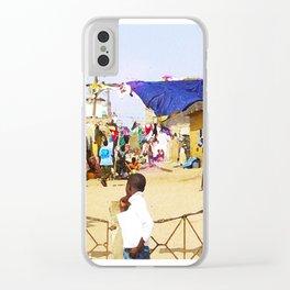 Saint Louis-02 Clear iPhone Case