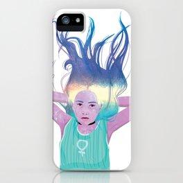 Galaxy Girl Dreams iPhone Case
