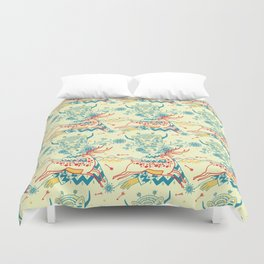 ready for action Duvet Cover