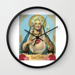 Saint Dolly Parton Wall Clock
