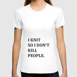 I KNIT. T-shirt