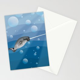 Gnarly Narwhal Stationery Cards