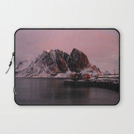 Sunrise in Lofoten Laptop Sleeve
