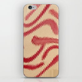 Red Frizz iPhone Skin