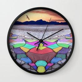 Painted Desert Wall Clock