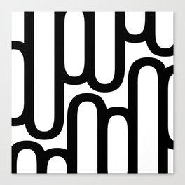 U Pattern Canvas Print