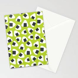Onigiri (rice balls) pattern Stationery Cards