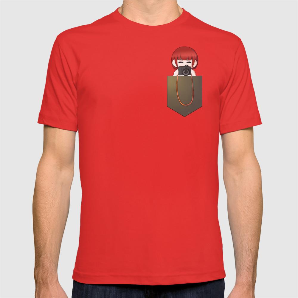 Pocket Mahiru Koizumi - Danganronpa T-shirt