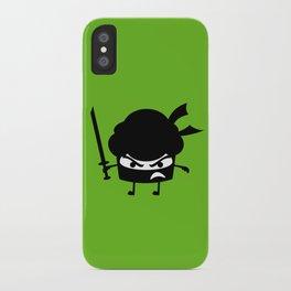 Ninja Cupcake  iPhone Case