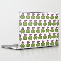 donnie darko Laptop & iPad Skins featuring Pattern Donnie by Dragona15