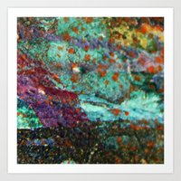 Micropic Art Print
