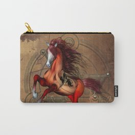Awesome horse  with skull Carry-All Pouch